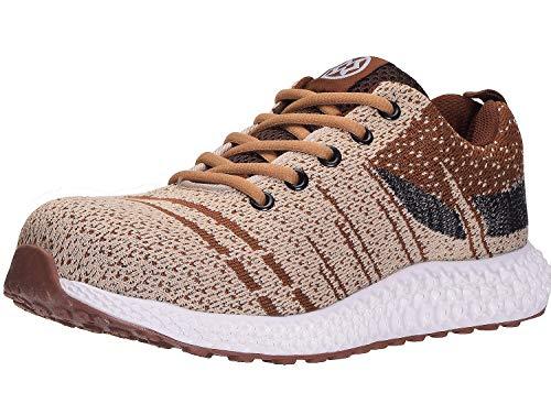 Zapatos de Seguridad para Hombre Zapatos de Trabajo Puntera de Acero Zapatillas de...