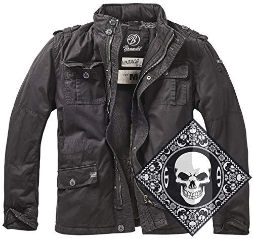 Urbandreamz Britannia Winter Jacket Black Gr. 4XL