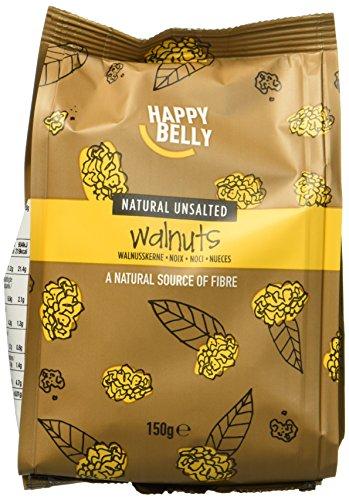 Marca Amazon - Happy Belly Nueces mondadas, 7 x 150gr