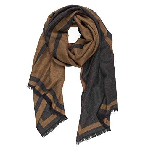 Scarf for Men Spring Fall Cashmere Touch Man Soft Elegant Classic Scarves (TA01-14)