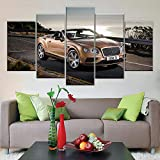 5 Panel/Set Lienzos Handart Cuadro En Lienzo Cinco Partes HD Clásico Óleo Impresiones Decorativas Cartel Arte Pared Pinturas Hogar Lienzo Imágenes De Supercar
