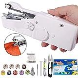 DUTISON Handheld Sewing Machine - Mini Cordless Portable Electric Sewing Machine - Home