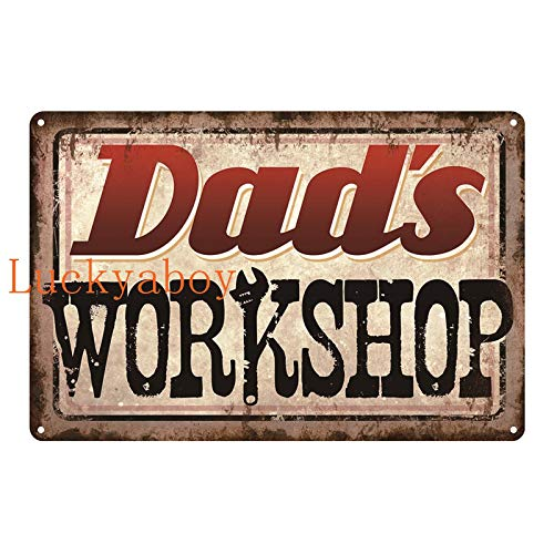Mainstayae Weeds Black Cat Gym Dad's Sheds Workshop Vintage Metal Retro Stickers Tin Signs Bar Poster Art Iron Wall Decor Painting 20x30cm SW850