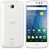 Acer Liquid Z530 (Android5.1 Lollipop/MT6735 Quad-core 1.3GHz/2GBメモリ/16GB/5インチ/SIMフリーLTE/ホワイト) Z530W-F01