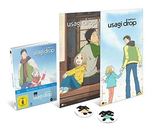 Usagi Drop - Vol. 2 - Limited Mediabook (inkl. Maxi Poster & 2 Sticker) [Blu-ray]