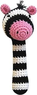 crochet zebra toy