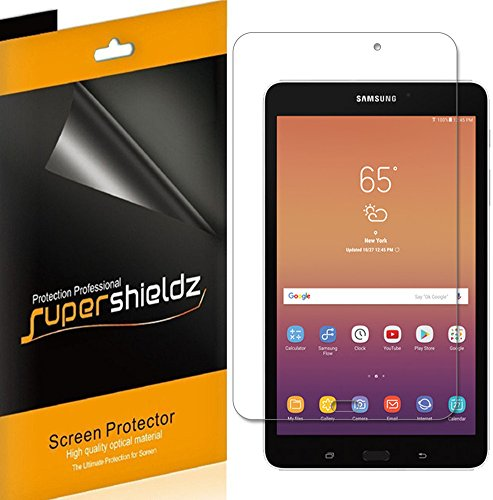(3 Pack) Supershieldz for Samsung Galaxy Tab A 8.0 inch (2017) (SM-T380) Screen Protector, High Definition Clear Shield (PET)