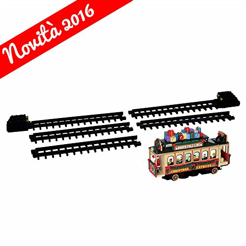 Lemax C82 Trenino Di Babbo Natale X 3 Batt Stilo Aa