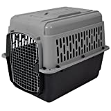 Aspen Pet Porter Heavy-Duty Pet Carrier,Dark Gray/Black,30-50 LBS