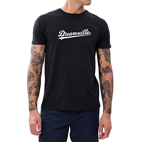 Loo Show Mens Dreamville Records Music Fans T-Shirts Men Gift Tee Black