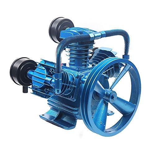 GJJSZ 3000W 4HP 115PSI W Style 3 Cylinder Air Compressor Pump Motor Head Air Tool New