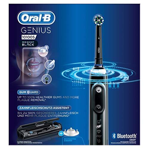 Oral-B Power Genius 10100S Elektrische Zahnbürste Midnight Black, 1140 g