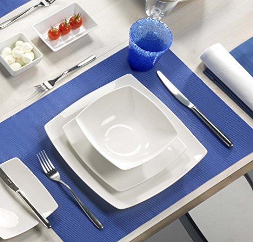 Kaleidos - Service d'assiettes en porcelaine 18 pièces Helsinky (13180)