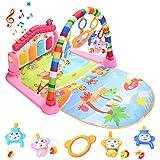 HIUME Gimnasio Bebé, Manta Actividades Bebé, Juguetes de Piano para Patear y...