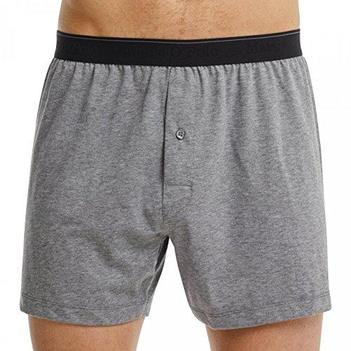 Marc O'Polo Body & Beach Herren Boxershorts, Grau (Grau-Mel. 202), XX-Large