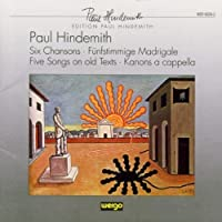 6 Chansons / Zwolf Madrigale by PAUL HINDEMITH (2008-05-20)