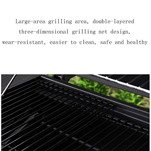 51G0ej1zNOL. SL500  - wanhaishop Camping Grill Großer Grill im Freien Home Charcoal Grill Field Barbecue Picknickgrill