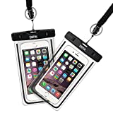 Waterproof Cell Phone Bag, EOTW 2 Pack Waterproof Phone Pouch with Military Class