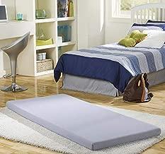 Simmons BeautySleep Siesta Memory Foam Mattress: Roll-Up Guest Bed/Floor Mat, 3