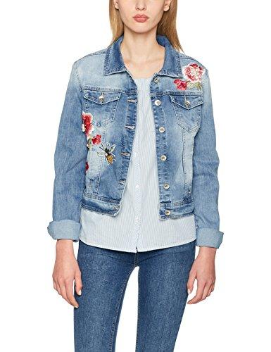 Hailys Damen LS C JK Flower Jacke, Blau (Blue 60001), 40...