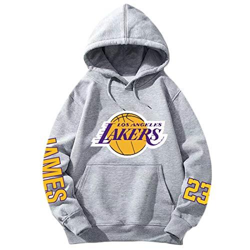 Lakers James Basketball Hoodie, l?ssiges Sweatshirt