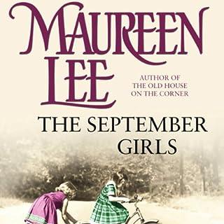 The September Girls audiobook cover art