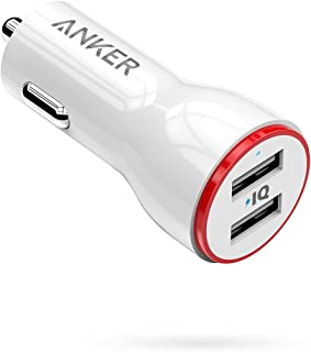 Anker PowerDrive 2 24W 2-Port Car Charger - White, A2310021