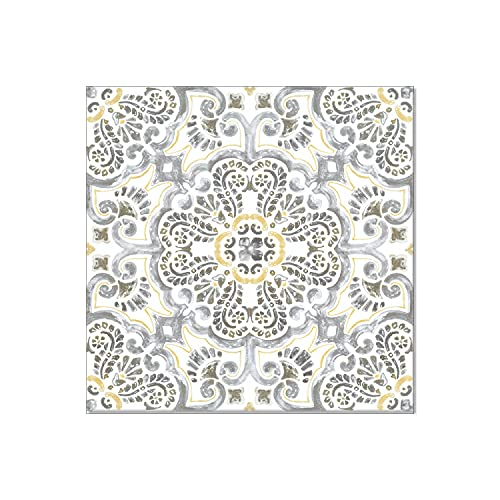 Luxury Vinyl Floor Tiles by Lucida USA | Peel & Stick Adhesive Flooring for DIY Installation | 36 Decorative-Look Tiles | BaseCore | 36 Sq. Feet | 12