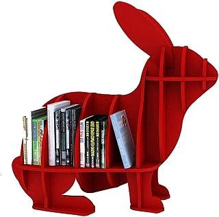 Sala de conciertos Marco de almacenamiento de CD, Sala de exposiciones Biblioteca Rabbit Revista Estante - Tienda Cafeterí...