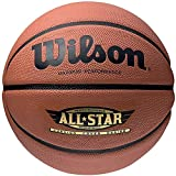 Wilson Performance All Star Balón, Unisex Adulto, marrón, 7