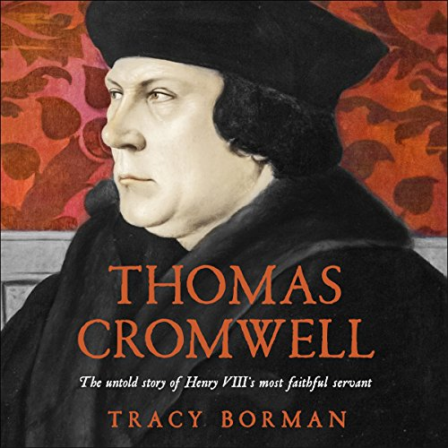 Thomas Cromwell audiobook cover art