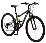 Mongoose Ledge 2.1 Mountain Bike, 27.5' Wheels, 21 speeds, Mens Frame, Black