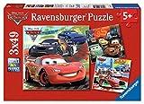 Cars - Puzzle, Pack de 3 x 49 piezas (Ravensburger 09281)
