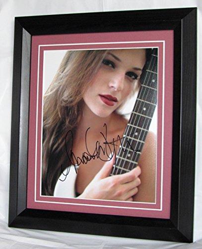 a670ar Amanda Righetti firmado 'El mentalista Grace 'firmado enmarcado...