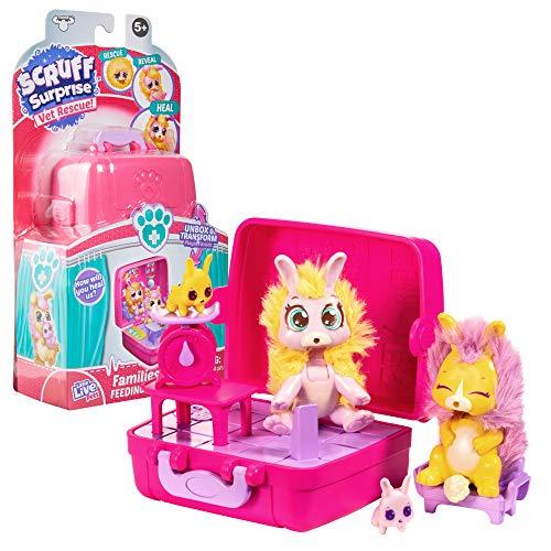 Little Live Scruff Surprise Tierarzt Rettung Häschen Familien Pack Miniatur-Sammelspielzeug