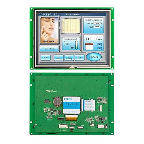SCBRHMI 8 Zoll Intelligenter TFT LCD Monitor mit HMI Programmierung und LCD Controller + Lcd Panel+ UART Schnittstelle