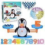 BAKAM Penguin Balance Math Counting Toys, Educational Number Toys for Kids, STEM Learning Toys for Boys Girls Age 3+ (Penguin)