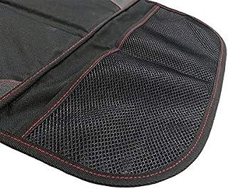ANCHISNB Car Seat Covers Oxford Cuero de la PU del automóvil Antideslizante Mat Silla del Protector for el bebé de los niños del Amortiguador de Asiento Negro (Color Name : Inner Mirror)