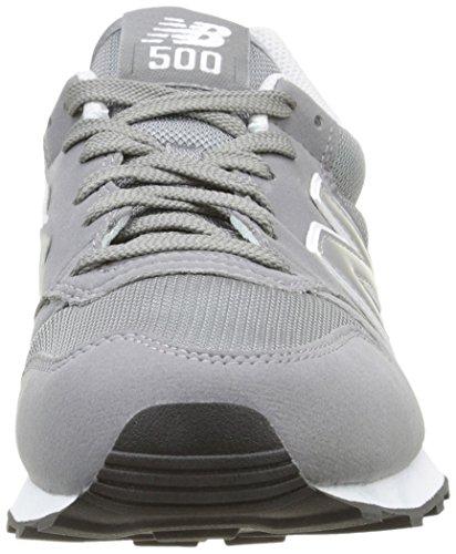 New Balance 500 Core, Zapatillas Hombre, Gris (Grey), 43 EU