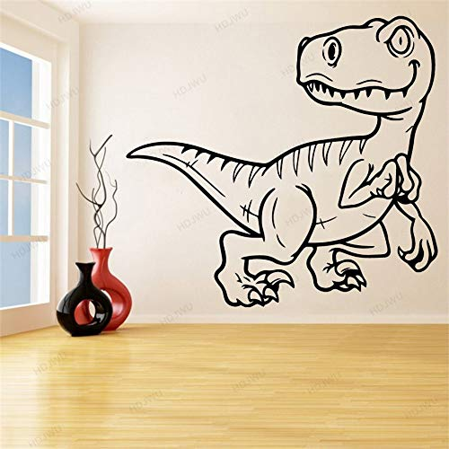 yaonuli Afneembare cartoon dinosaurus vinyl muursticker Home Decoration Decal Jongen slaapkamer muursticker