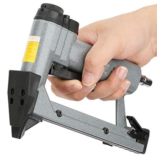 Grapadora neumática, grapadora neumática, tubo de admisión 6 * 8 mm, 300 piezas, para marcos de fotos