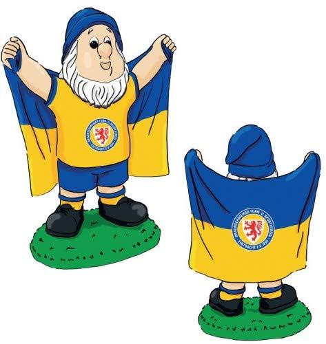 Eintracht Braunschweig Gartenzwerg, Zwerg Fahne klein