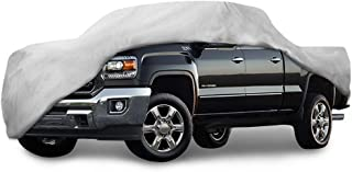 96 inches Waterproof 4 Layer Reliable Weather Protection UV Treated Truck Cover Budge TA-9 Tan Size 9: Full-Size Dually Long Bed Pickup w//Crew Cab 8 Dustproof