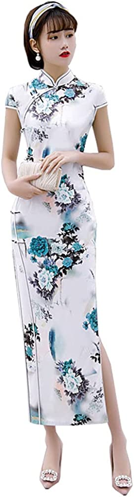 shopping Women's Dress Fresno Mall Mini Cheongsam 2021 Fashion Summer Slim Girl Emb