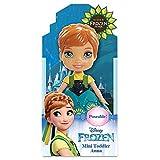 Jakks Pacific Muñeca Disney Frozen Anna, Multicolor, 7,5 cm (95253)...