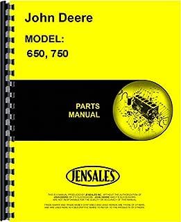 John Deere 650 750 Tractor Parts Manual (JD-P-PC1873)