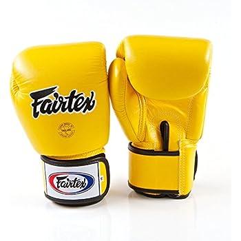 Fairtex Muay Thai Boxing Gloves BGV1 White Training Sparring Kick MMA K1 12-16