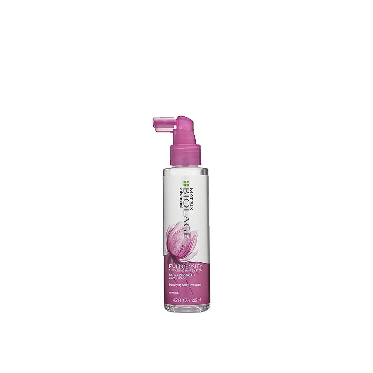 大洪水ラリー怖がらせるマトリックス Biolage Advanced FullDensity Thickening Hair System Densifying Spray Treatment 125ml/4.2oz並行輸入品