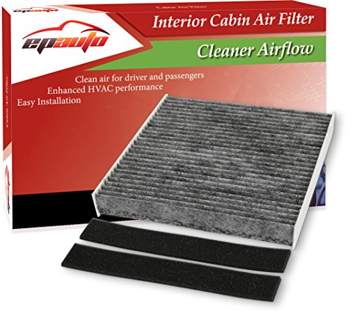 EPAuto CP140 (CF10140) Replacement for Premium Cabin Air Filter includes Activated Carbon