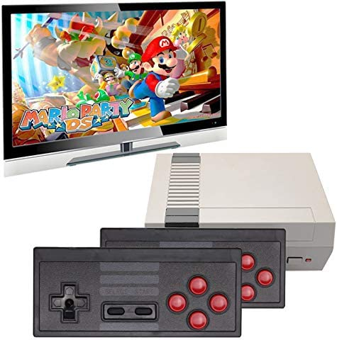 Nicico Wireless Classic Handheld Game Console Built in 620 Classic Game Console and 2 2 4G Dual product image